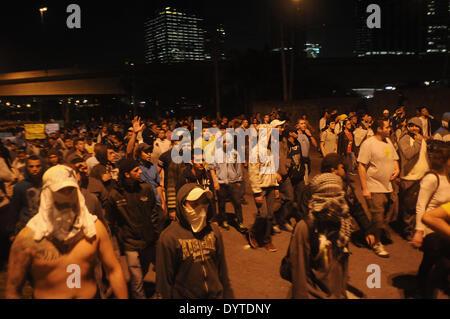 Proteste in Brasilien 2013 - Stockfoto