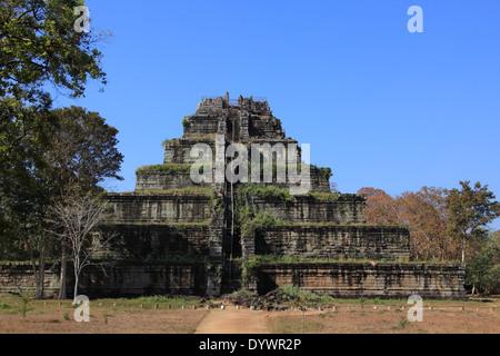 Koh Ker Tempel in der Nähe von Siem Reap, Kambodscha - Stockfoto