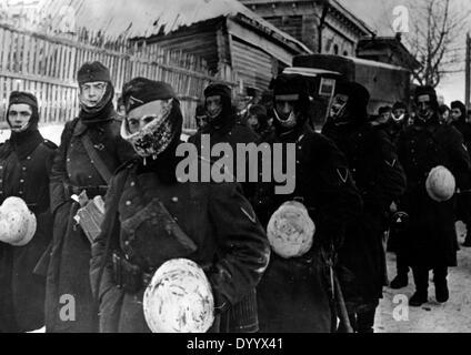 Deutsche Soldaten an der Ostfront, 1942 - Stockfoto