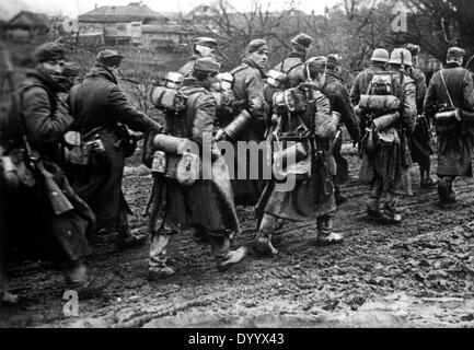 Deutsche Soldaten an der Ostfront, 1941 - Stockfoto