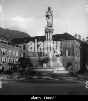 Waltherplatz in Bozen, 1927 - Stockfoto