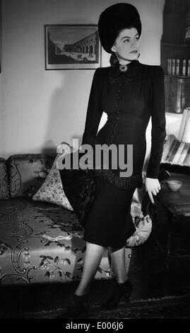 Damenmode, 1941 - Stockfoto