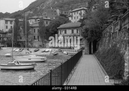 Varenna am Comer See, Italien, 1990 - Stockfoto