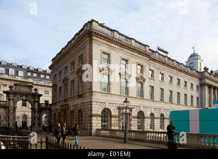 Kings College Somerset House London Erneuerung des East Wing von Somerset House für Kings College in London das - Stockfoto