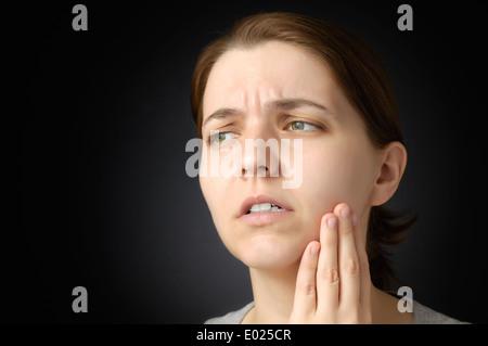 Zahnschmerzen - Stockfoto