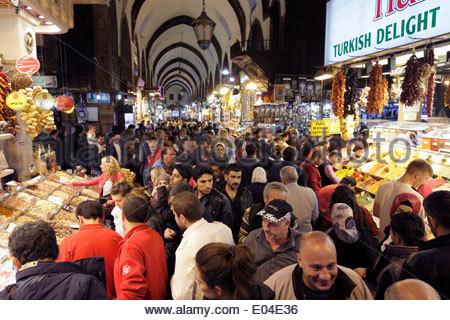 Istanbul-Gewürz-Basar - Stockfoto