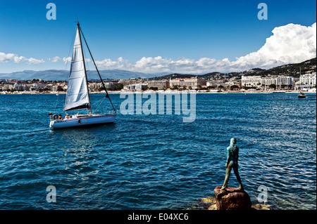 Europa, Frankreich, Alpes-Maritimes Cannes. Die Vigie. - Stockfoto