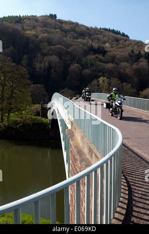 Bigsweir Brücke über den Fluss Wye in der Nähe von Llandogo, Monmouthshire, Wales, UK