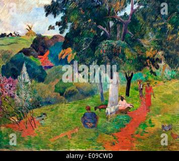 Allees et Veranstaltungsorte Martinique 1887 Paul Gauguin 1848 – 1903 Frankreich Französisch - Stockfoto