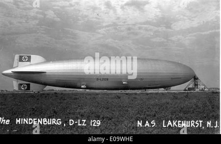 Hindenburg - Stockfoto