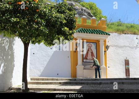 Öffentliche Brunnen in andalusische, Andalusien, Spanien. - Stockfoto