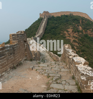 Jinshanling-Abschnitt der Great Wall Of China, Beijing, China - Stockfoto