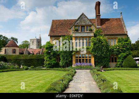 Raymond Blanc Hotel Le Manoir Aux Quat' Saisons in Oxfordshire, Vereinigtes Königreich - Stockfoto