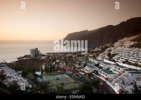Spanien, Europa, Kanaren, Los Gigantes, Klippen, auf der Insel Teneriffa, Teneriffa, Teneriffa, Architektur, Felsen, - Stockfoto