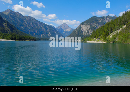 Österreich, Plansee, Tirol, See-Plansee, Seespitz, Ammergauer Alpen, - Stockfoto