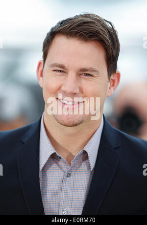 CHANNING TATUM FOXCATCHER. PHOTOCALL. 67. CANNES FILM-FESTIVAL CANNES Frankreich 19. Mai 2014 - Stockfoto