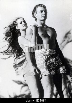 HURRIKAN (1937) DOROTHY LAMOUR, JON HALL, JOHN FORD (DIR) HURR 002 MOVIESTORE SAMMLUNG LTD - Stockfoto
