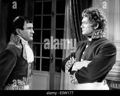 Schauspieler Jean Marais in einer Szene aus einem film - Stockfoto