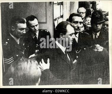 28. Juni 1963 - Studie von Stephen Ward Begins: die Studie Gesellschaft Osteopathen Dr. Stephen Ward in Marylebone, - Stockfoto