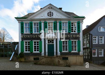 Deutsches Röntgen-Museum in Remscheid-Lennep, Bergisches Land, Nordrhein-Westfalen - Stockfoto