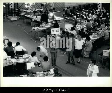7. Juli 1985 - Konferenz über die Vereinten Nationen Frauen zehn Jahre trifft sich in Nairobi: The World Conference - Stockfoto