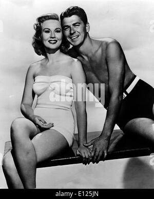 18. Januar 2005; Hollywood, Kalifornien, USA; (Foto-Datei: 01.01.1951) VIRGINIA MAYO, 1940er Jahre Bildschirm Sirene, - Stockfoto
