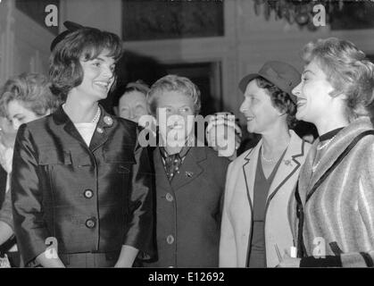 27. Dezember 2006; London, UK; JACKIE KENNEDY Ehefrau von JOHN FITZGERALD KENNEDY (29. Mai 1917 Ð 22. November 1963), - Stockfoto