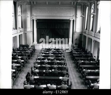 24. Februar 2012 - bereitet Haileybury College sein hundertjähriges Bestehen feiern. Nächstes Jahr kommt, ist die - Stockfoto
