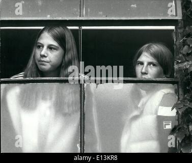 2. März 2012 1. Juli 1980 Andrea regnerischen Nachmittag in Wimbledon. 15 Jahre alte Tennis Wunder-Girl Andrea Jaeger - Stockfoto
