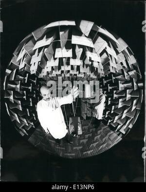 22. März 2012 - Wissenschaft-Fakt oder Fiktion; Es kann eine Szene von neuesten Science-Fiction Film spektakulär - Stockfoto