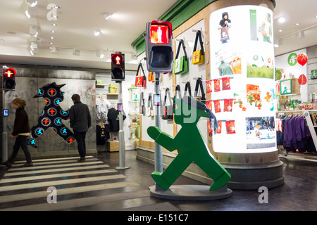 Ampelmann-Souvenir-Shop in Berlin, Deutschland - Stockfoto