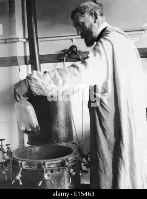 LOUIS PASTEUR (1822-1895), französischer Chemiker und Mikrobiologe - Stockfoto