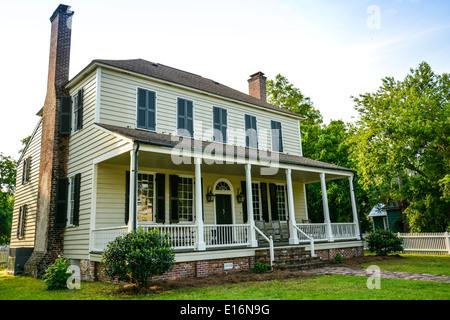 General John Floyd House, um 1830, viktorianische Wahrzeichen im historischen Viertel, St. Marien, GA - Stockfoto