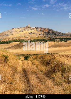 Teba Burg Provinz Malaga Andalusien Spanien