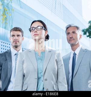 Ernste Angelegenheit Personen im freien - Stockfoto