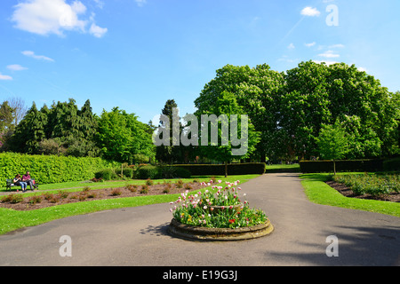 Churchfield Gärten, Ruislip, London Borough of Hillingdon, Greater London, England, United Kingdom - Stockfoto