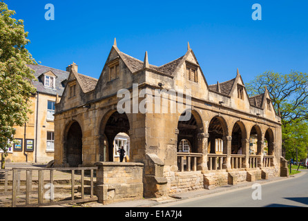 Chipping Campden Markthalle gebaut 1646 High Street Chipping Campden The Cotswolds Gloucestershire England UK EU - Stockfoto