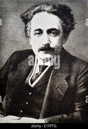 Foto von Albert Einstein (1879 - 1955) Deutsche theoretische Physiker. Am besten für die Entwicklung der allgemeinen - Stockfoto