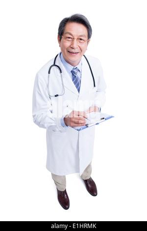 Zuversichtlich, leitender Arzt - Stockfoto