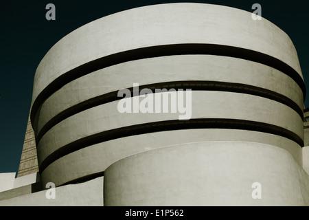 Solomon R. Guggenheim Museum New York City - Stockfoto