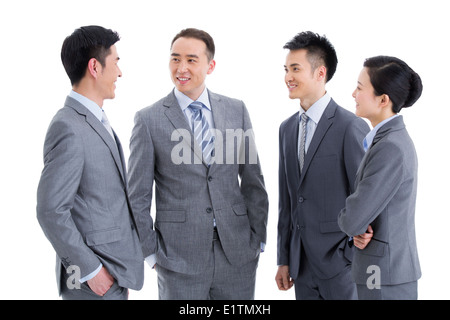 Business-Team in Diskussion - Stockfoto