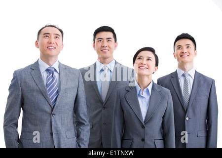 Business-Team nachschlagen - Stockfoto