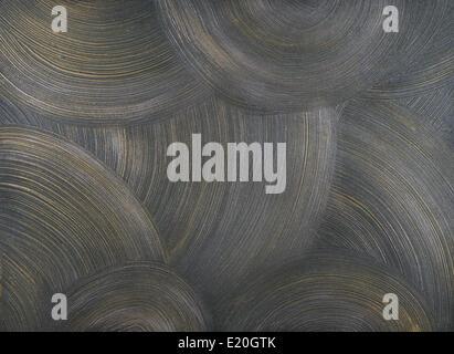 Wand Textur mit Schlägen - Stockfoto
