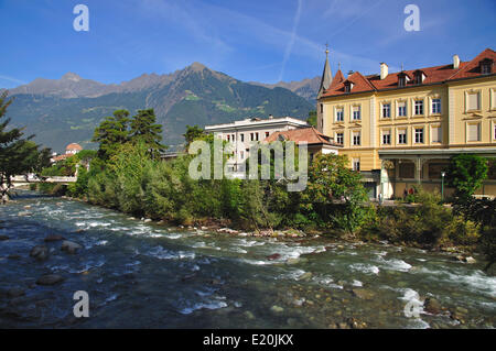 Health Resort Meran in Südtirol - Stockfoto