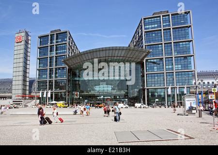 Berlin Hbf, Hauptbahnhof, Hauptbahnhof - Stockfoto