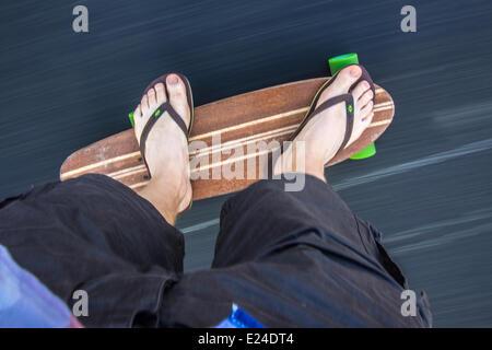 Skateboarding in Rio. - Stockfoto