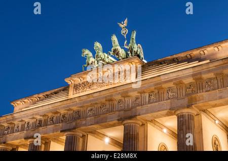 Brandenburger Tor Brandenburger Tor Berlin Deutschland - Stockfoto