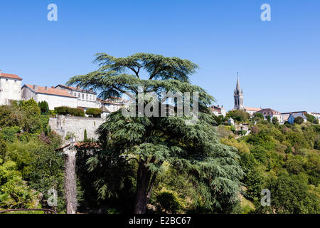 Frankreich, Dordogne, Perigord Vert, Nontron - Stockfoto