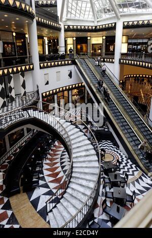 Deutschland, Berlin, Einkaufszentrum Quartier 206, Friedrichstrasse, entworfen von Ieoh Ming Pei, Quartier 206 (206 - Stockfoto