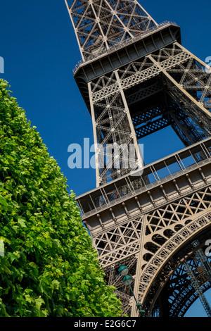 Eiffelturm, Paris Frankreich - Stockfoto